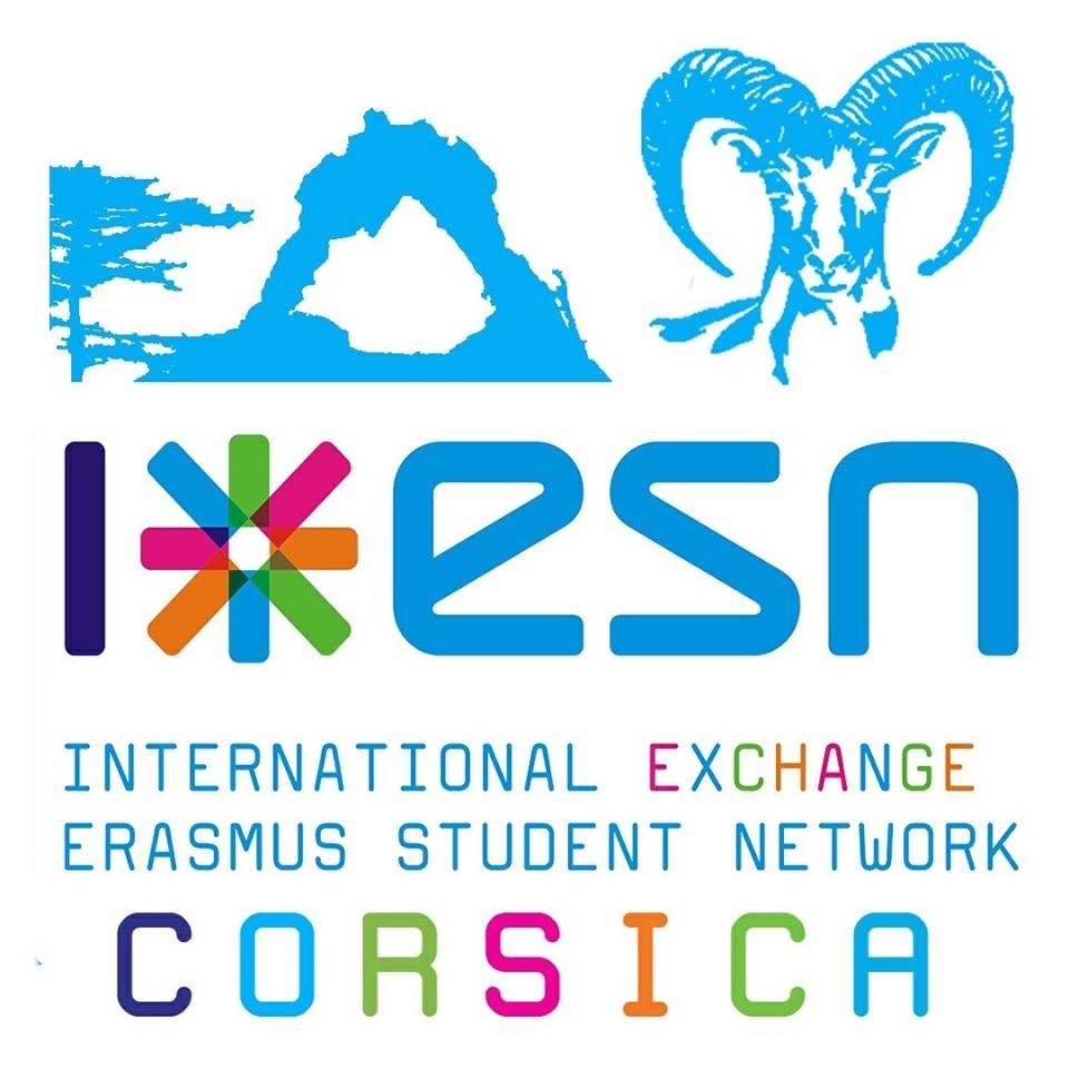 Logo ESN CORSICA (Erasmus)